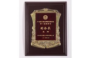 《广东省企业品牌建设促进会》荣誉证书